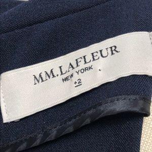 MM Lafleur Dresses - Beautifully cut, classic sheath dress in navy
